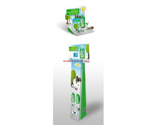 Karton Stand Reklam Kartları - 08