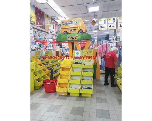 Karton Standlar Bölmeli - 04