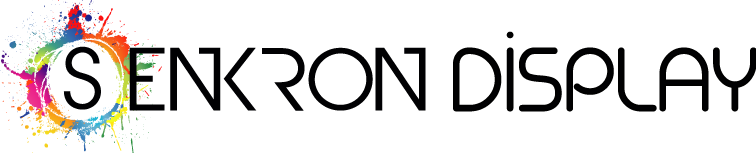 Senkron Display - Örümcek Stand, Roll Up, Tanıtım Standı